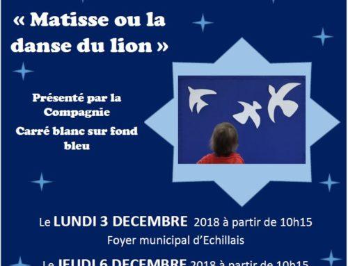 Spectacle fin d'année Relais Accueil Petite Enfance le 03 et 06 décembre 2018